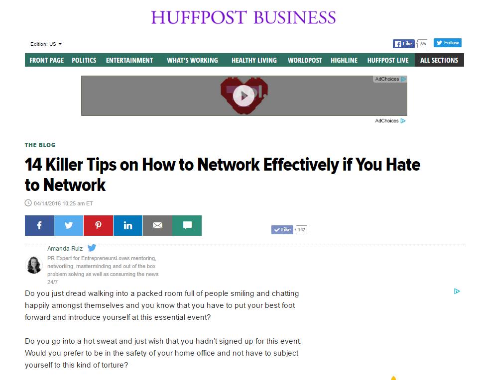 Huffington Post AMANDA RUIZ