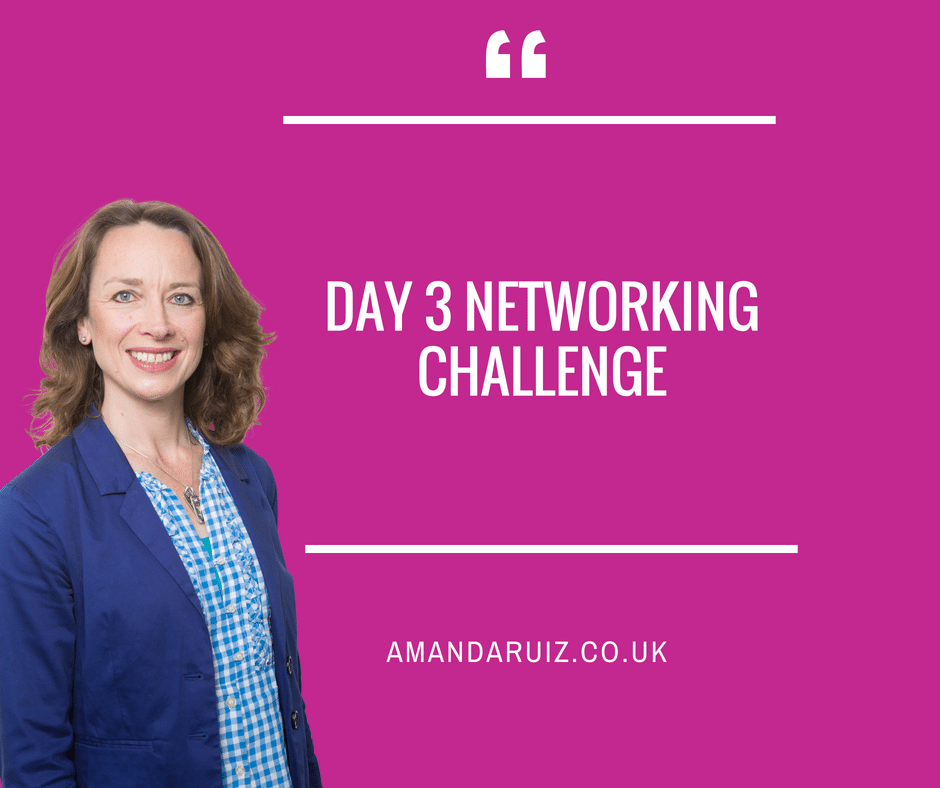 Day 3 Networking Challenge