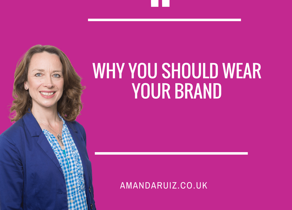 Why you should wear your brand